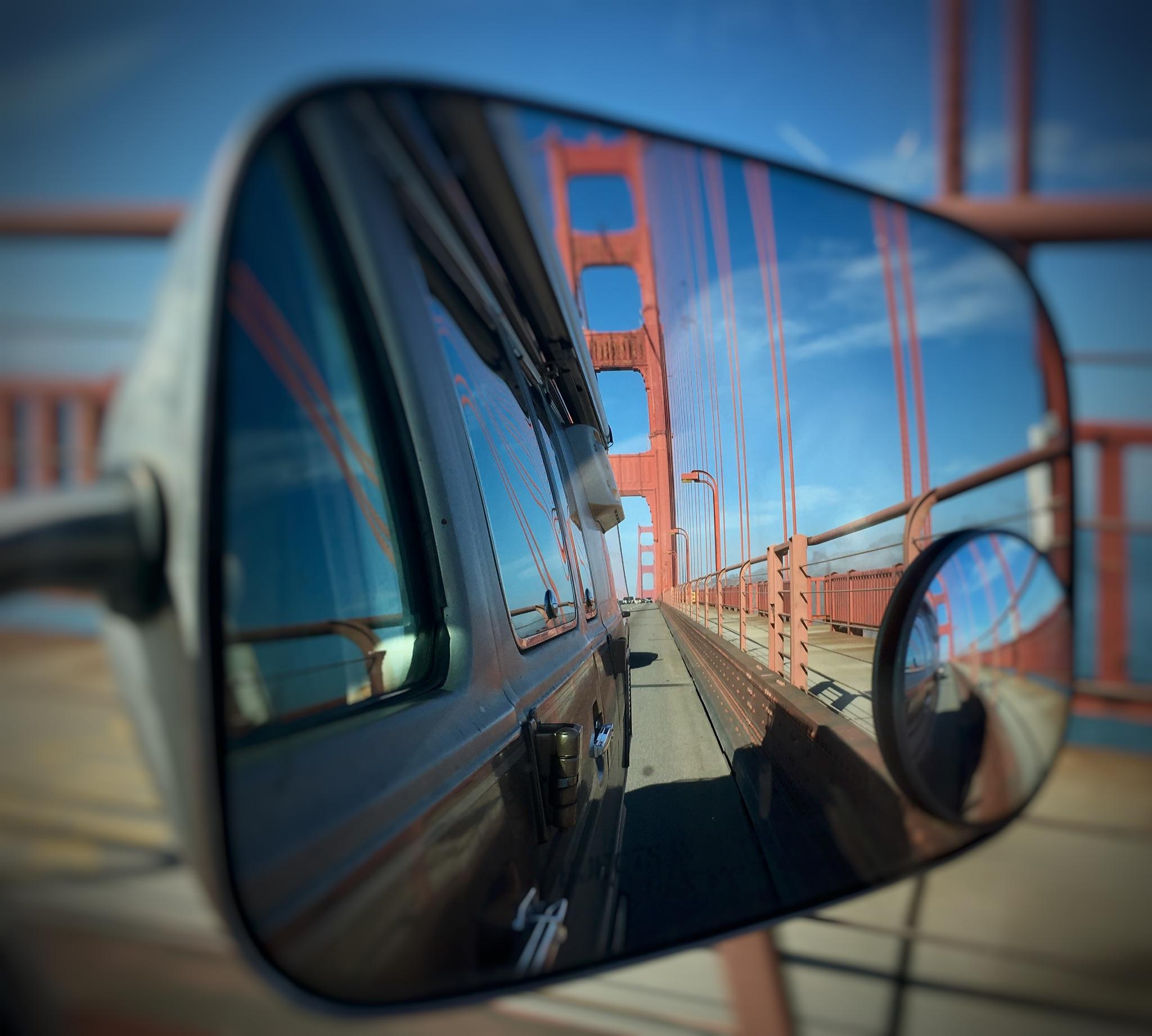Huch, hallo Golden Gate Bridge!